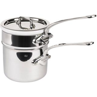 Mauviel Cook Style Bain-Marie Gryta med lock 0.8 L 12 cm