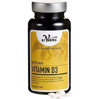 Nani Vitamin D3 90 st