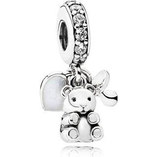 Pandora Baby Treasures Silver w. Cubic Zirconia (792100CZ)