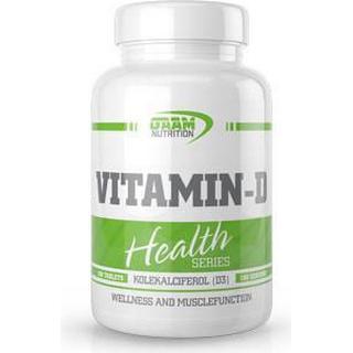 GAAM Nutrition Health Series Vitamin D 100 st