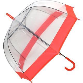 Soake Clear Dome Umbrella Red (EDSCDR)