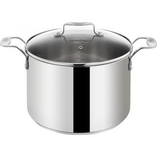 Tefal Jamie Oliver Stainless Steel Gryta med lock 6.7 L 24 cm