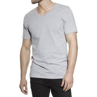 Bread and Boxers V-Neck T-shirt - Grey Melange