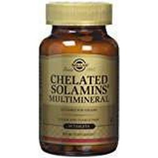 Solgar Chelated Solamins Multimineral 90 st