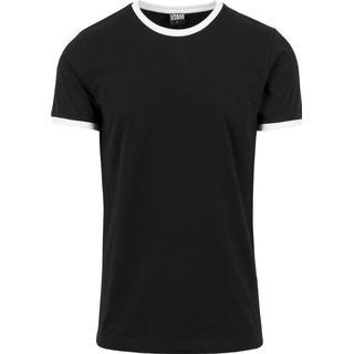 Urban Classics Ringer T-shirt - Blk/Wht