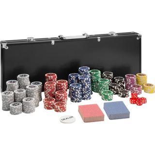 tectake Pokerset 500 Pieces