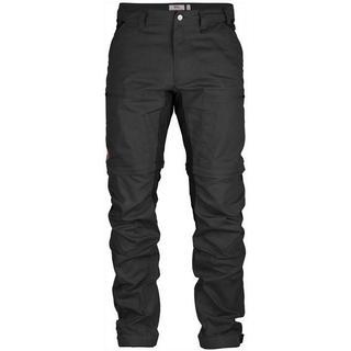 Fjällräven Abisko Lite Trekking Zip-off Regular Trouser - Dark Gray/Black