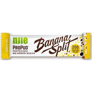 NJIE ProPud Banana Split Protein Bar 55g 1 st