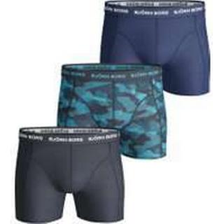 Björn Borg Shadeline Essential Shorts 3-pack - Total Eclipse