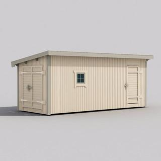 Trähuset Saga 15-4 (Byggnadsarea 15 m²)