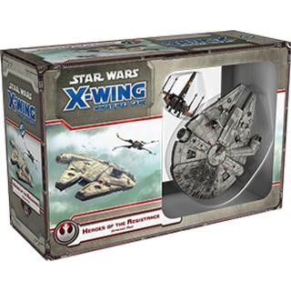 Fantasy Flight Games Star Wars: X-Wing Heroes of the Resistance Expansion Pack