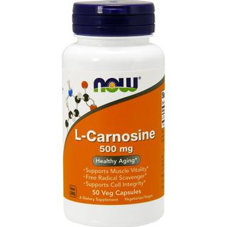 Now Foods L-Carnosin 500mg 50 st