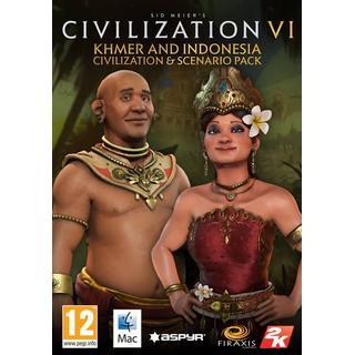 Sid Meier's Civilization VI: Khmer and Indonesia - Civilization & Scenario Pack