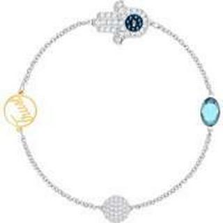 Swarovski Remix Collection Hamsa Hand Stainless Steel Bracelet w. Crystal (5365759)