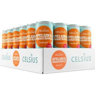 Celsius Energy Drink Apelsin & Granatäpple 24 st