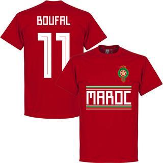 Retake Morocco Team T-Shirt Boufal 11. Sr