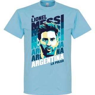 Retake Argentina Portrait T-Shirt Messi Sr