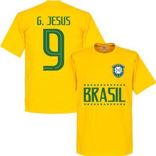 Retake Brasil Team T-Shirt G. Jesus 9. Sr