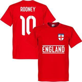 Retake England Team T-Shirt Rooney 10. Sr