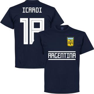 Retake Argentina Team T-Shirt Icardi 18. Sr
