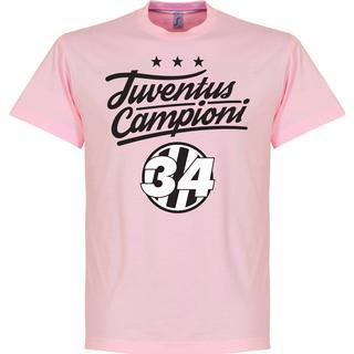 Retake Juventus Campioni 34 Crest T-Shirt Sr