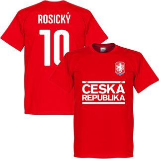 Retake Czech Republic Team T-Shirt Rosicky 10. Sr