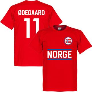Retake Norway Team T-Shirt Ødegaard 11. Sr