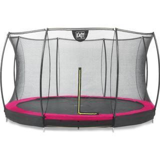 Exit Silhouette Ground Trampoline 366cm + Safety Net