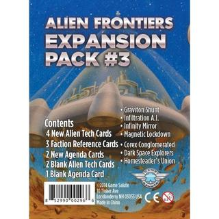 Game Salute Alien Frontiers: Expansion Pack #3