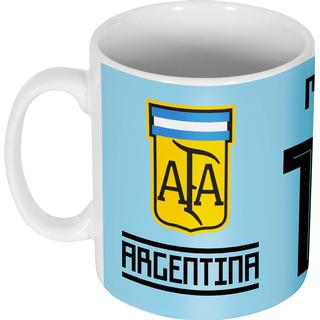 Retake Argentina Team Mug Messi 10