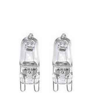 Airam 4719567 Halogen Lamps 18W G9 2-pack