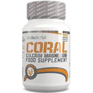 BioTechUSA Coral Calcium Magnesium 100 st
