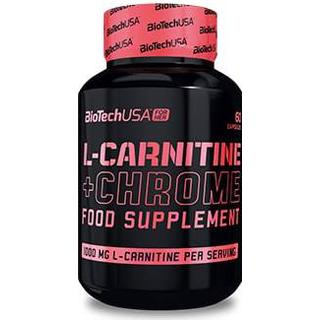 BioTechUSA L-Carnitine + Chrome 60 st