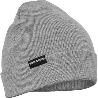 Urban Classics Basic Flap Beanie Unisex - Grey