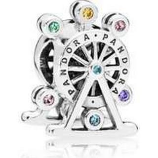 Pandora Colour Wheel Charm Sterling Silver Charm w. Mixed stones/Crystal/Cubic Zirconia (797199NLCMX)