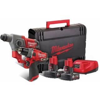 Milwaukee M12 FPP2B-602X Set (2x6.0Ah)