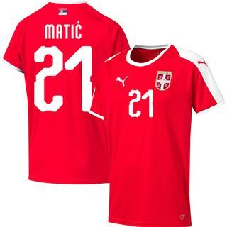 Puma Serbia Home T-Shirt 18/19 Matic 21. Sr