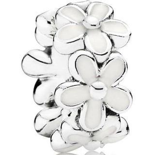 Pandora Darling Daisies Spacer Silver Charm (791495EN12)
