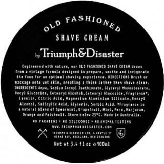Triumph & Disaster Old Fashioned Shave Cream 100ml
