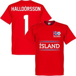 Retake Iceland Team T-Shirt Halldorsson 1. Youth