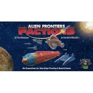 Game Salute Alien Frontiers Factions