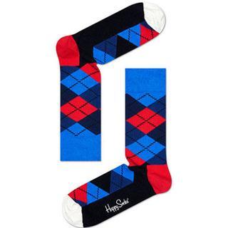 Happy Socks Argyle Sock - Red/Blue