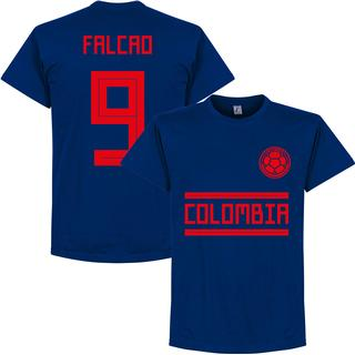 Retake Colombia Away Team T-Shirt Falcao 9. Sr