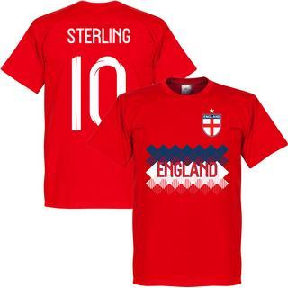Retake England Team T-Shirt Sterling 10. Sr