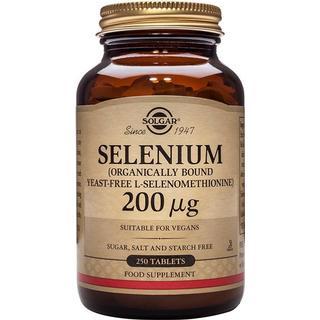 Solgar Selenium 200mcg (Yeast Free) 250 st