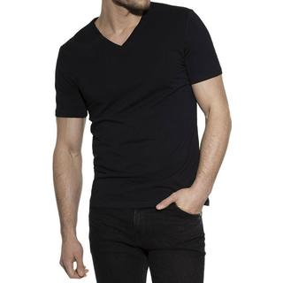 Bread and Boxers V-Neck T-shirt - Black