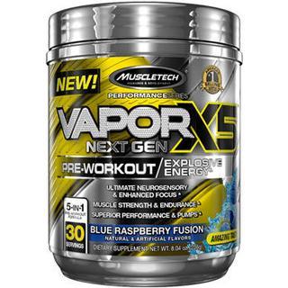 Muscletech VaporX5 Next Gen Blue Raspberry 263g