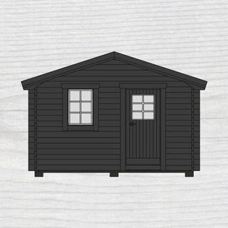 Baseco Stuga (Byggnadsarea 15 m²), Grundsats