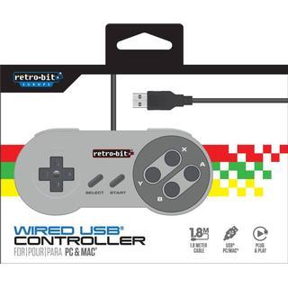 Retro-Bit PC & MAC SNES Controller USB