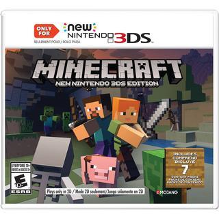 Minecraft: New Nintendo 3DS Editions